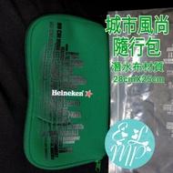 全新收藏品釋出🎉 ~☆藝羚小鋪ELMP☆~ 海尼根城市風尚隨行包 行動電源防塵包 收納包 化妝包 置物包