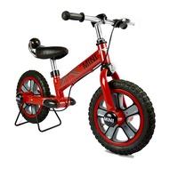 【淘氣寶寶】英國授權 Mini Cooper兒童滑步平衡車12吋(紅)