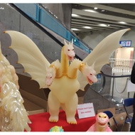 日本展會WF 2019w Gigabrain限定商品全蓄光哥吉拉Godzilla對手王者基多拉巨型軟膠