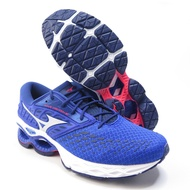 Mizuno WAVE CREATION 21 男款 慢跑鞋 U4icX中底 J1GC200101 藍【iSport】