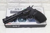 2館 KWC 6吋 左輪 手槍 CO2槍 ( 轉輪手槍短槍玩具槍BB槍BB彈城市獵人牛仔巨蟒蟒蛇PYTHON M357