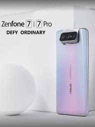 Original ASUS Zenfone 7 Proสมาร์ทโฟน8GB RAM 256GB ROM Snapdragon 865 Plus 5000MAh NFC Android Q 90Hz Global Version 5G