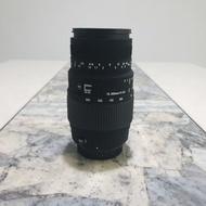 Used Lens Tele Macro Sigma 70-300mm. Canon mount