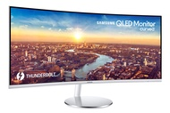 Samsung 34-Inch CJ791 Ultrawide Curved Gaming Monitor (LC34J791WTNXZA) - 100Hz Refresh, QLED Computer Monitor, 3440 x 1440p Resolution, 4ms Response, Stereo Speakers