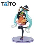 【日本正版】初音未來 萬聖節 Ver. 公仔 模型 18cm 初音 TAITO - 297342