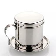 【現貨】越南咖啡壺 過濾濾滴壺 咖啡濾杯 手沖壺 不鏽鋼咖啡壺 越南壺
