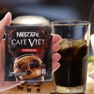 Coffee with iced black coffee-Cafe Viet-Nescafe-pack 16g