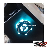 【LFM】NAS 鋼鐵反應爐 LED 反光片 鍍鈦 TIGRA BWS BWSR JETS FIGHTER六代 BON 勁戰