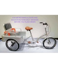 3 WHEEL CARGO BIKE WITH PASSENGER SEAT(CONVERTIBLE) FOR M.MNILA,BULACAN AND CAVITE BUYERS ONLY