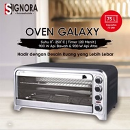 OVEN GALAXY SIGNORA FREE NEW HAND MIXER / OVEN LISTRIK BESAR / OVEN KUE ROTI CAKE  / SIGNORA GALAXY