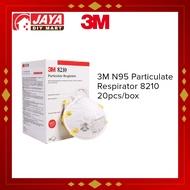 3M N95 PARTICULATE RESPIRATOR 8210 20PCS/BX JAYA DIY MART