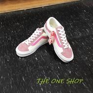 VANS Style 36 Old Skool 粉色 粉紅色 粉紅線 米白色 白色 帆布鞋 板鞋 VN0A3DZ3VY2