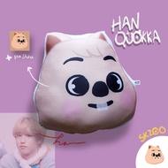 Skzoo stray kids Pillows - Han Quokka - Han