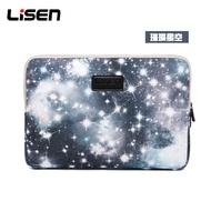 เอเวอร์กรีน Lisen ลึกลับ Starry Sky แฟชั่นแล็ปท็อปสำหรับเดินทางกระเป๋าแฟชั่นธุรกิจแล็ปท็อปสำหรับเดินทางกระเป๋าแล็ปท็อปแท็บเล็ตกรณีกระเป๋าเอกสารสำหรับ MacBook/iPad 11/13/14/15นิ้ว