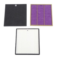 AC4121+AC4123+AC4124 Filters Kit for Philips AC4002 AC4004 AC4012 Air Purifier Parts