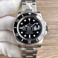 低價 N廠 Rolex 勞力士鋼帶機械腕錶 V8版本黑水鬼