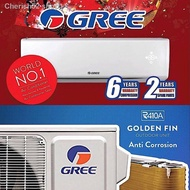ஐIn stock Gree 1HP, 1.5HP and 2HP Aircond, FOC Professional Installation Covered Area