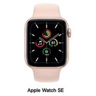 Apple Watch SE 40mm LTE版 金色鋁錶殼配粉沙色運動錶帶MYEH2TA/A