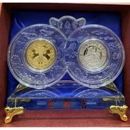 現貨💰💰 2020紫南宮開運鼠年錢母~水晶屏風套幣💰💰
