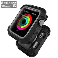 EverToner Cover For Apple Watch SE Case 38mm 42mm 40mm 44mm, Shock Proof Bumper Cover Scratch Resistant Protective Rugged Case for Apple Series 4/3/2/1