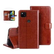 【IN7】瘋馬紋 Google Pixel 4a  5.81吋 錢包式 磁扣側掀PU皮套 手機皮套保護殼(吊飾孔 插卡皮套)