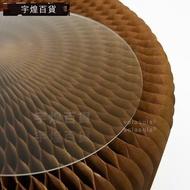 《宇煌》磨砂展示台板圓形壓克力板墊子透明板_8jFt