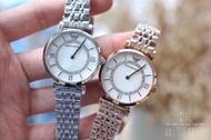 Emporio Armani Armani watch female steel chain women's watch casual steel belt quartz watch
