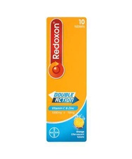 Redoxon Double Action Vitamin C & Zinc 1000mg 10s
