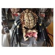 (硬骨頭)鐵血戰士 終極戰士 狂戰士 Predator 安全帽 嬉皮 哈雷 重機 彩繪