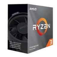 AMD Ryzen R3-3100 處理器 (四核八緒/AM4/內含風扇/無內顯)