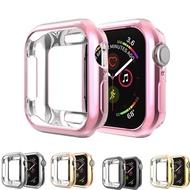 คุณภาพสูงสำหรับ Apple 5/4/3/2/1 กรณีสายคาด Apple Watch 44 มม.40mm 42mm/38mm APPLE WATCH กรณี TPU ซิลิโคนป้องกันกันชน