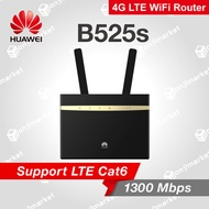 Huawei B525 LTE Sim Card  Router Black 4G CA CPE mobile wifi Router Free Antenna Attached As a Gift