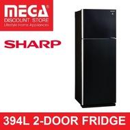 SHARP SJ-PG39P 394L 2-DOOR FRIDGE