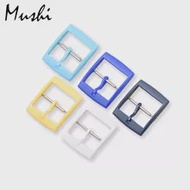 MS Watch Accessories for Swatch Strap Buckle SWATCH Silicone Watch Band Plastic Strap Buckle 16mm 19mm 20mm Rubber Straps 5pcs