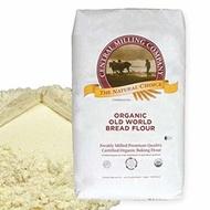▶$1 Shop Coupon◀  100% Organic Artisan Bread Flour - 25 lbs - Type 80 Old World Wheat Blend