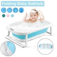 75X46X21ซม.พับเด็กทารกแรกเกิดBathubสำหรับกระเป๋าเดินทางขนาดใหญ่เด็กDeluxeอาบน้ำอ่างน้ำอ่างอาบน้ำ-สีฟ้า/สีเขียว/สีชมพู