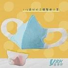 YSH益勝軒 幼幼1-4歲 醫療 3D立體口罩50入/盒-藍色 台灣製 符合國家標準