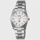 【LICORNE力抗錶】簡約時尚設計都市手錶 (玫瑰金/銀 LT083BWWI-R)