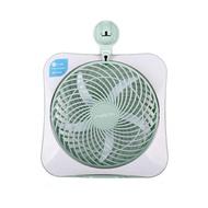 【露營趣】新店桃園 FECA-DC 10吋DC環保綠能風扇 攜帶式風扇 DC扇 吸盤式 充電式 桌扇 電扇 行動風扇 辦公 露營 野營