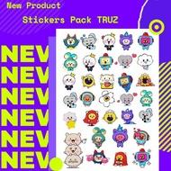 Truz Treasure Truz Stickers