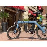Fiido D11電動折疊腳踏車 電池可拆卸 自行車 可拆卸座管電池 折疊電動自行車