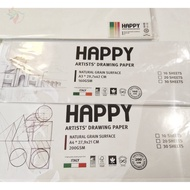 NEW HAPPY 200GSM Retail Drawing Paper