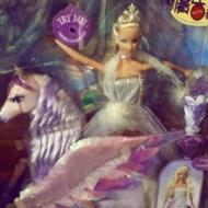 絕版稀有品芭比之魔幻飛馬之旅飛馬組合