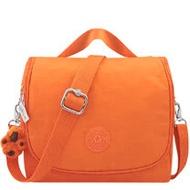 KIPLING 波紋手提斜背包-橘色