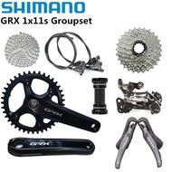 SHIMANO GRX RX810 Groupset 170 172.5mm 40 42T Crankset Shifter Derailleur Cassette 1X11s Mechanical
