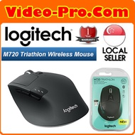 Logitech M720 Triathlon Multi-Device Wireless Mouse / Bluetooth Smart and 2.4GHz Wireless Connection
