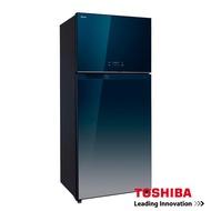 TOSHIBA東芝 608L雙門變頻玻璃鏡面冰箱 GR-WG66TDZ