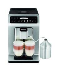 KRUPS เครื่องชงกาแฟอัตโนมัติ Evidence Plus stars 2.3 ลิตร สีเงิน - เครื่องทำกาแฟ เครื่องชงกาแฟสด เครื่องชงกาแฟแคปซูล กาแฟแคปซูล แคปซูลกาแฟ เครื่องทำกาแฟสด หม้อต้มกาแฟ กาแฟลดน้ำหนัก กาแฟสดคั่วบด กาแฟลดความอ้วน mini auto capsule coffee machine