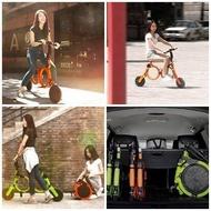 CITYMAN板橋店電車系列智能QC-150輕量折疊電動車可當代步車摺疊車助力電動車親子腳踏車親子電動車鋰電池電動車