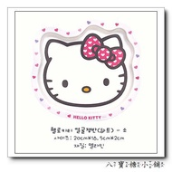 八寶糖小舖~Hello KITTY水果盤 凱蒂貓點心盤 糖果盤子 大臉愛心S 號款